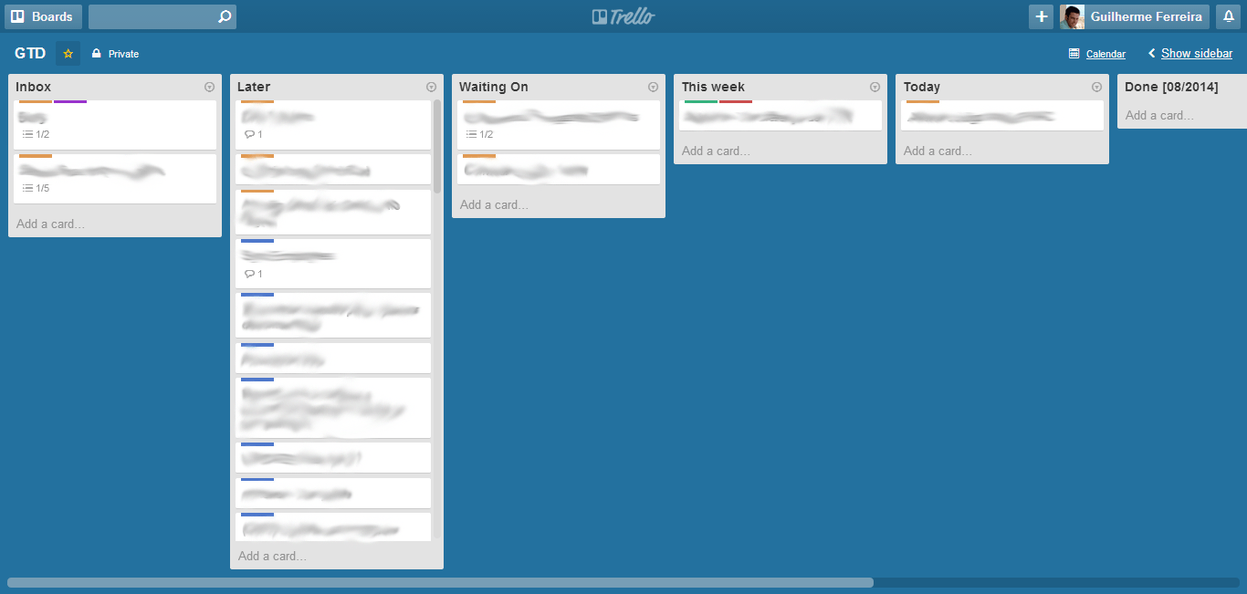 How To Implement Getting Things Done With Trello Guilherme